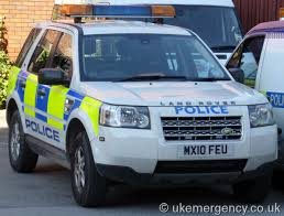 use of amber lights on vehicles airport police uk emergency vehicles