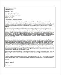 academic application letters 9 free word pdf format download