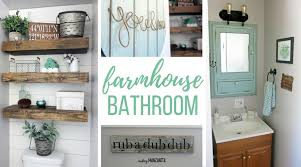 farmhouse style bathrooms farmhouse master bathroom reveal making manzanita