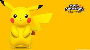 super smash bros wii u wallpapers pikachu 2 wallpaper super smash bros wii u 3ds by gibarrar on