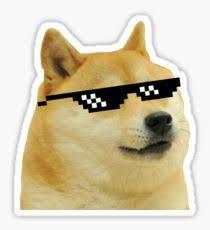 Doge Meme Pictures - doge meme stickers redbubble
