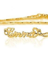 Carrie Bradshaw Name Necklace Gold Carrie Name Necklace