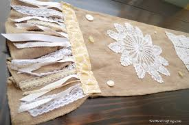 texmex crafting shabby chic table runner