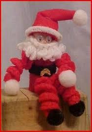 crocheted santa decorations thriftyfun