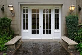 french doors with glass glass french door with sidelights u2014 prefab homes