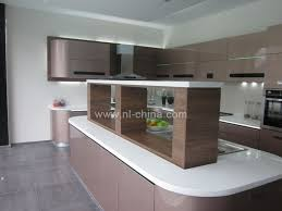 modern high technology curved new model kitchen cabinet kc 1100