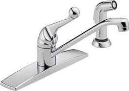 classic kitchen faucets delta 400lf wf classic single handle kitchen faucet with matching