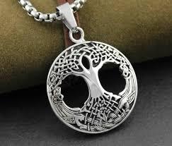 necklace pendant knots images Family tree of life men 39 s pendant necklace irish celtic knots jpg