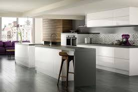All White Kitchen Ideas Minimalist All White Kitchen Wide Window Top Mount Sink Faucet