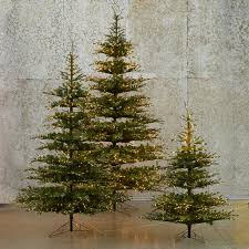 pre lit led faux noble fir fir tree firs and holiday decorating