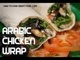 arabic wrap arabic chicken wrap recipe sumac lemon mint middle eastern