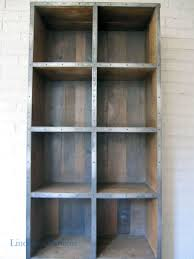 furniture home metal and wood bookcase with wood storage metal