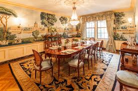 dining room murals park avenue apartment shocks with stunning wall mural