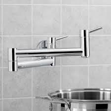 blanco 441194 cantata polished chrome pot filler kitchen faucets