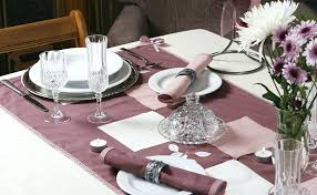 how to set a table with napkin rings fancy napkin rings a fiercely elegant table setting in mauve with