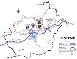 Boone Map Blue Ridge Parkway Julian Price Park Hiking Trails Mp 295 298