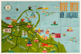 Map Of Dublin Ireland Things To Do In Dún Laoghaire Visit Dublin
