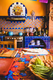 Mexican Tile Kitchen Backsplash Best 20 Mexican Style Kitchens Ideas On Pinterest Hacienda