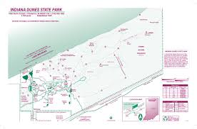 Afton State Park Map by Indiana Dunes