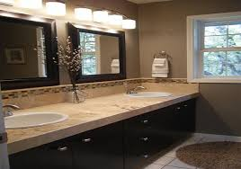 Bathroom Lighting And Mirrors Granite Bathroom Countertops With Sink Plus Large Bathroom Mirrors
