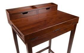 Tall Narrow Secretary Desk by Winsome Brighton Secretary Desk With Hutch U0026 Reviews Wayfair