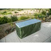 yardstash deck box cover xl to protect large deck boxes suncast
