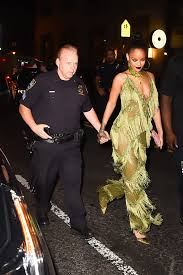 rihanna jumpsuit only rihanna can look this in to toe lime green