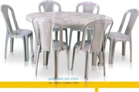 plastic round table and chairs oval dining table nilkamal dining tables andheri west mumbai