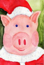 christmas pig 107 best christmas pigs images on pigs
