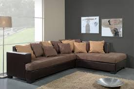 canapé d angle en cuir pas cher canapé d angle genoa chocolat canapé d angle canapé salon
