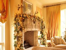 White Christmas Decorations For Mantel by Decorating Magnificent Christmas Fireplace Mantel Decor