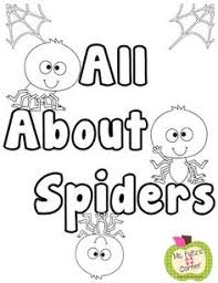 free spider printables http www freekidcrafts unit