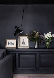 dark walls dark walls and black wall l living space the main lodge