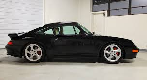 widebody porsche 993 1996 porsche 993 twin turbo black 45 109 miles sloan cars
