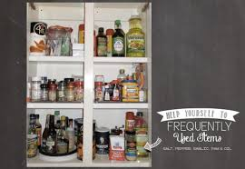 Kitchen Cabinet Organizer by Organizing Kitchen Spice Cabinet Organization That Is Easy