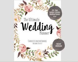 planner wedding wedding planner etsy