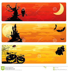 hallowen download halloween banners royalty free stock image image 15719746