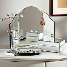 Vanity Mirror Dresser Mirrored Trifold Vanity Pbteen
