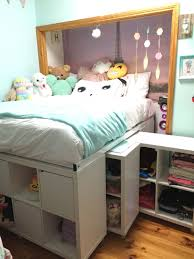 storage beds ikea hackers and beds on pinterest storage bed ikea hack expedit hack under bed storage crafts