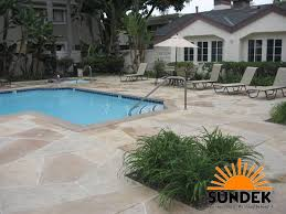 Resurface Concrete Patio Concrete Pool Decks Sierra Concrete Resurfacing