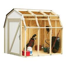 shed kit with barn roof 90190 the home depot
