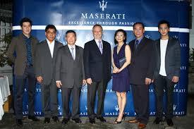 maserati thailand maserati grancabrio launch in thailand
