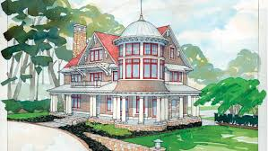 Shingle Style Home Plans Queen Anne House Plans And Queen Anne Designs At Builderhouseplans Com