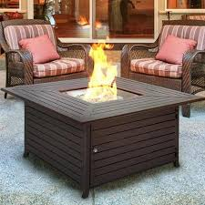 walmart outdoor fireplace table best choice products extruded aluminum gas outdoor fire pit table
