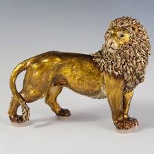 lion figurine lot 144 strongwater lion figurine akiba antiques
