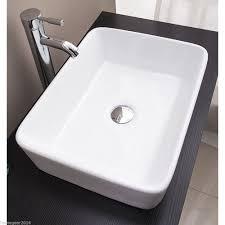Bathroom Vanity Basins by 9 K303 Rectangle Above Counter Ceramic Art Basin Homegear