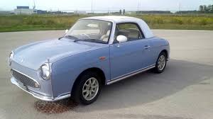 nissan figaro interior 1991 nissan figaro walkaround tour low mileage show car youtube