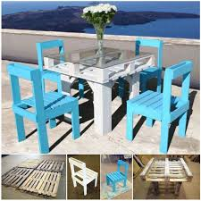 cheap outside table and chairs 50 wonderful pallet furniture ideas and tutorials