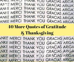 thanksgiving quotes 40 quotes of gratitude and thanksgiving