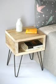 Bed Side Tables by Best 25 Handmade Bedside Tables Ideas On Pinterest King Size